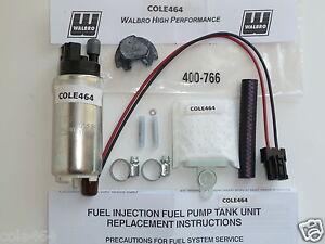 Genuine Walbro GSS342 + 400-766 KIT 255 LPH HP Fuel Pump 350Z, 370Z, G35,G37