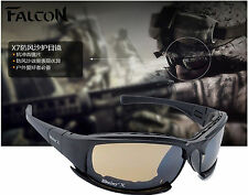 Tactical X7 Glasses Military Goggles Bullet-proof Army Sunglasses With 4 Lenses