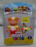 Disney Jr. Muppet Babies BABY FOZZIE BEAR Muppets Plastic TOY FIGURE NEW
