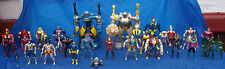 Marvel Big Huge X-Men Action Figure Lot Toy Biz Magneto Wolverine Cyclops + More