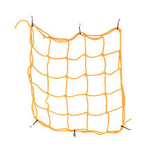 30x30cm Motorcycle Bike Bungee Tank Helmet Web Cords Mesh Cargo Hook 4 Coloruf9 Yellow