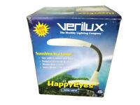 Verilux Happy Eyes Natural Spectrum Desk Lamp Ivory HED1 Seasonal Lighting SAD