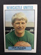 a & bc gum purple back football cards 1971 #178 Ian McFaul Newcastle United