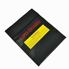 US RC LiPo Li-Po Battery Fireproof Safety Guard Safe Bag for Charge&Storage