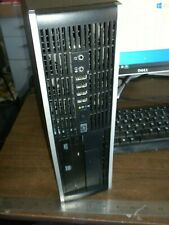 HP Compaq 8000 Elite SFF Desktop PC 8GB RAM Win 10 Pro Works Great
