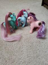 My Little Pony Princess Pony Lot ( Skylark, Dawn, Royal Blue)