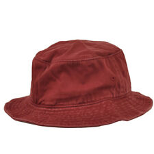 bae6577eebb American Needle Faded Burgundy Blank Plain Flex Fit Small Medium Bucket Sun  Hat