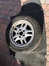 "BMW 318i 323i 328i Z3 Silver Wheel + Tire 16x7"" OEM # 59228 Excellent"