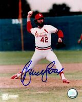 Bruce Sutter autographed signed 8x10 photo MLB St. Louis Cardinals PSA COA
