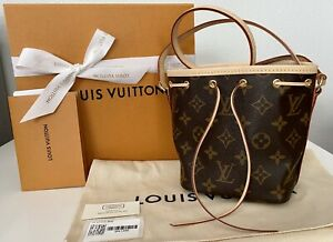 Made In France 😍Rare Brand New LOUIS VUITTON NANO NOE 100% Authentic