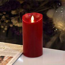 Luminara Dancing Wick Candle 1 In. W X 8 in H Classic Wax DIP Taper 2 Pcs Ivory