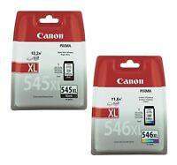 Original Canon PG-545XL & CL-546XL Tintenpatronen Sparset Schwarz/Color