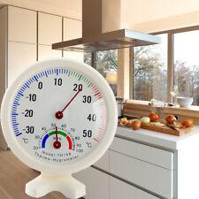 Round Indoor Outdoor Hygrometer Humidity Thermometer Temperature Meter Gauge