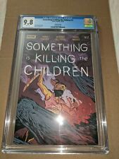Something Is Killing The Children #2 (CGC 9.8) 2nd Print - Cameo Octo  1st Tommy