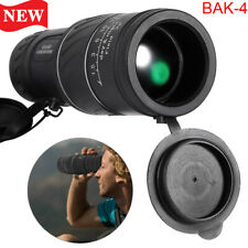40x60 Zoom HD Monocular Starscope W/ Night Vision Telescope BAK4 Optics