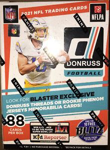 🔥🏈💪🔥2021 Donruss NFL Football Blaster Box Rookies?Lawrence?Jones?