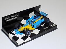 1/43 Minichamps F1 Formula 1 Renault R202 Mild Seven J.Trulli 2002