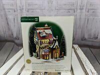 dept 56 village xmas christmas 56705 Jack in box no 2 store shop north pole new