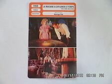 CARTE FICHE CINEMA 1959 LA MACHINE A EXPLORER LE TEMPS Rod Taylor Alan Young