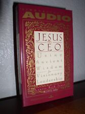Jesus, CEO: Using Ancient Wisdom for Leadership by Laurie Beth Jones (1995,Cass)