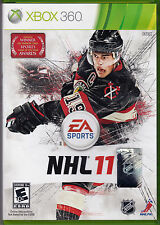 NHL 11 (Microsoft Xbox 360, 2010) EA Sports - Hockey - Online Multiplayer