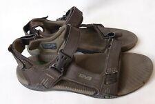 Teva Men's Toachi Sport Sandals Size 9.5 Brown Camping Hiking Adjustable Straps