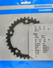 Shimano 105 FC-5750 Chainring 34T, 110mm BCD, Double, Black