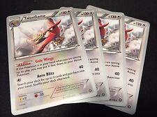 4x Talonflame 96/114 World Championship Pokemon Cards Mint