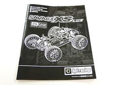 *NEW HPI SAVAGE XS MINI FLUX Manual HXS0