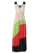 APART Plisseekleid 36 Abendkleid Damenkleid Maxikleid Cocktail Multi 67880 #2