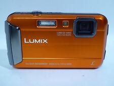 "Panasonic DMC-TS25 Waterproof Digital Camera w 2.7"" LCD ORANGE FREE SHIPPING!"