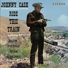 Johnny Cash - Ride This Train/Now There Was a Song! [New CD] Spain - Import