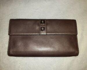 Perlina Bown Metallic Leather Wallet
