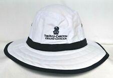 *RITZ CARLTON GRAND CAYMAN* Island Nylon L/XL Bucket golf hat THE PALMER *AHEAD*