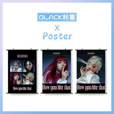 Kpop BLACKPINK How You Like That Hanging Painting Wall Scroll Decorative Poster