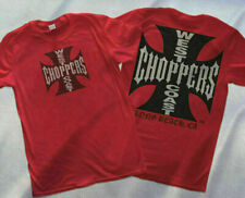 West Coast Choppers Cross T-Shirt-Black T Shirt