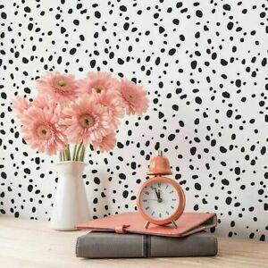 70 Dalmatian Spots Vinyl Wall Decal Sticker Polka Dot Print Bedroom Nursery