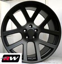 "22"" inch Dodge Ram 1500 OE Factory Replica Wheels SRT-10 Satin Black SRT10 Rims"