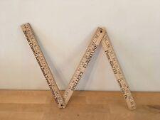 Vintage Wood Folding Yardstick SHELLEY'S FURNITURE Mercer County Grove City, PA