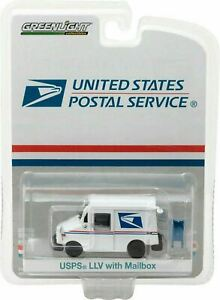 Greenlight USPS US Mail Postal Svc LLV Long Life Vehicle Mail Truck 29888 1:64