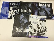 TRUE BLUE MUSIC JAZZ MAGAZINE BUNDLE LOT X 7 MILES DAVIS ETC
