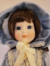 "Vintage 1989 Seymour Mann Connoisseur 15"" Porcelain Doll w/ COA NIB"