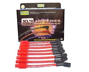 97-04 LS1 Trans Am Corvette Racing Ignition Spark Plug Wires 10.4mm RED TAYLOR
