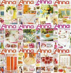 ANNA Spaß an Handarbeiten Ausgaben - Auswahl aus 2006