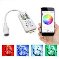 FJ- 12-24V WIFI RGBW LED STRIP LIGHT SMART BLUETOOTH PHONE APP CONTROLLER DIMMER