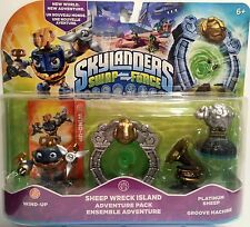 SKYLANDERS SWAP FORCE SHEEP WRECK ISLAND PACK - NEW IN HAND - FAST SHIPPING