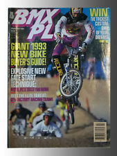 Bmx Plus Magazine Feb. 1993 has Bike Buyers Guide, Top Pros' holeshot techniques