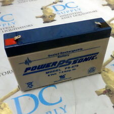 POWER-SONIC PS-670 SEALED RECHARGEABLE BATTERY 6 V 7 A