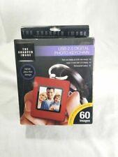 "Sharper Image USB 20 1.5"" Digital Picture Keychain"