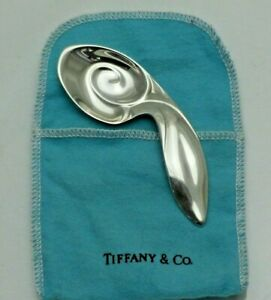 Vintage Sterling Solid Silver Tiffany & Co. Baby Rabbit Ear Spoon (1766-A-SOY)